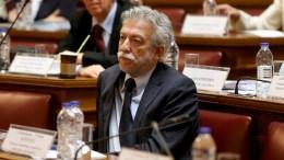 File Photo: Ο υπουργός Δικαιοσύνης, Διαφάνειας και Ανθρωπίνων Δικαιωμάτων Σταύρος Κοντονής, στην αίθουσα της Γερουσίας στη Βουλή. ΑΠΕ-ΜΠΕ, Παντελής Σαίτας