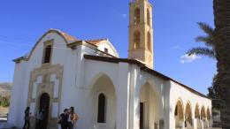 Την Κυριακή ο Εσπερινός της Αγίας Μαρίνας στην κατεχόμενη Κυθρέα. Φωτογραφία ΚΥΠΕ.