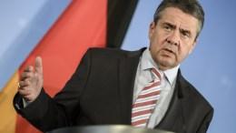 German Foreign Minister, Sigmar Gabriel. EPA/CLEMENS BILAN.