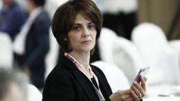 H εκπρόσωπος του Διεθνούς Νομισματικού Ταμείου στον Μηχανισμό Στήριξης της Ελλάδας, Ντέλια Βελκουλέσκου. ΑΠΕ-ΜΠΕ/ΓΙΑΝΝΗΣ ΚΟΛΕΣΙΔΗΣ ΑΠΕ-ΜΠΕ/ΑΠΕ-ΜΠΕ/ΓΙΑΝΝΗΣ ΚΟΛΕΣΙΔΗΣ