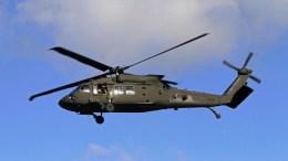 A US Army Black Hawk helicopter. EPA/VALDA KALNINA