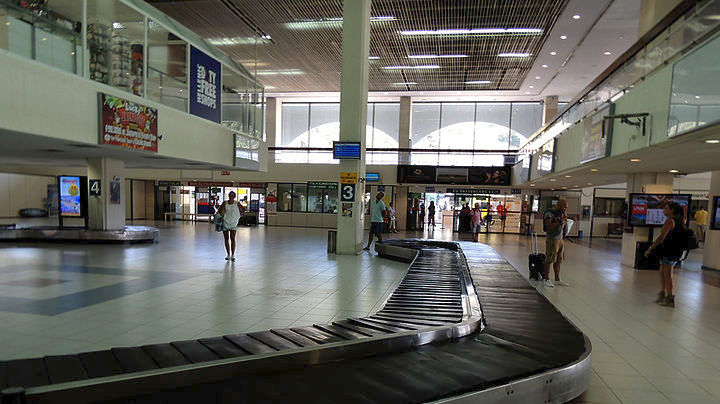 Passenger arrivals in Fraport-run Greek airports jump 14.1 pct in year-to-date. ΑΠΕ-ΜΠΕ/ STR