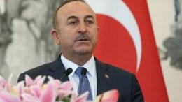 FILE PHOTO. Turkish Foreign Minister Mevlut Cavusoglu. EPA/ROMAN PILIPEY