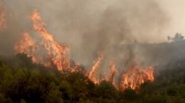 ΦΩΤΟΓΡΑΦΙΑ ΑΡΧΕΙΟΥ από μεγάλη πυρκαγιά ΑΠΕ-ΜΠΕ, ΣΥΜΕΛΑ ΠΑΝΤΖΑΡΤΖΗ