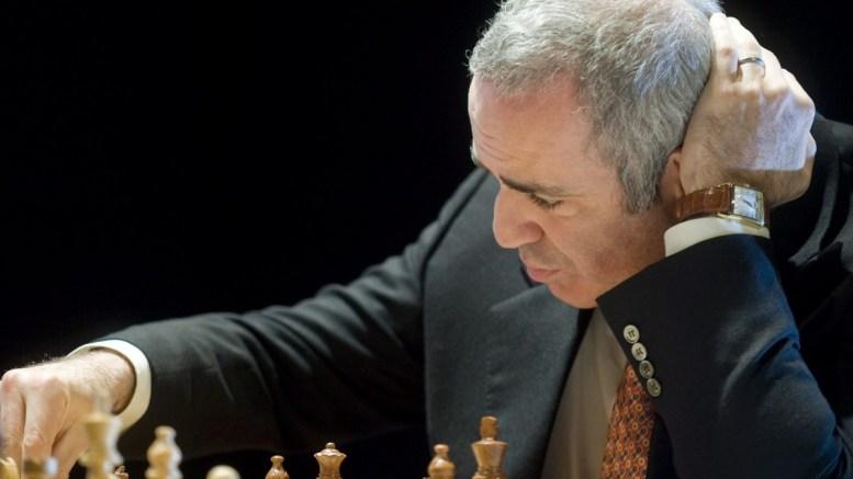Russian former chess world champion Gary Kasparov. FILE PHOTO. EPA/KAI FORSTERLING