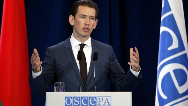 FILE PHOTO. Ο Αυστριακός υπουργός Εξωτερικών Κουρτς προειδοποιεί για αυξανόμενη επιρροή της Τουρκίας στα Βαλκάνια. EPA/TATYANA ZENKOVICH