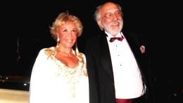 Απεβίωσε αιφνιδίως η ηθοποιός Ζωή Λάσκαρη, η οποία εικονίζεται στη Φωτογραφία Αρχείου με τον σύζυγό της Αλέξανδρο Λυκουρέζο. ΑΠΕ-ΜΠΕ/ΑΛΕΞΑΝΔΡΟΣ ΒΛΑΧΟΣ