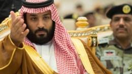 Ο διάδοχος και υπουργός Άμυνας της Σαουδικής Αραβίας, Μοχάμεντ μπιν Σαλμάν. Φωτογραφία SAUDI PRESS AGENCY