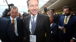 FILE PHOTO. Eurogroup former President Jeroen Dijsselbloem (C). EPA/MATTEO BAZZI