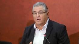 Ο Γενικός Γραμματέας του ΚΚΕ Δημήτρης Κουτσούμπας. ΑΠΕ ΜΠΕ, PIXEL, ΜΠΑΡΜΠΑΡΟΥΣΗΣ ΣΩΤΗΡΗΣ
