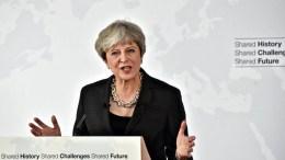 FILE PHOTO. British Prime Minister Theresa May. EPA/MAURIZIO DEGL'INNOCENTI / POOL