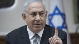 Israeli Prime Minister Benjamin Netanyahu. EPA/ABIR SULTAN / POOL