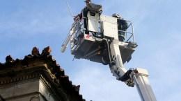 ΦΩΤΟΓΡΑΦΙΑ ΑΡΧΕΙΟΥ. Πυρπολήθηκε διατηρητέο κτίριο που βρισκόταν υπό κατάληψη στη Θεσσαλονίκη. ΑΠΕ-ΜΠΕ/Παντελής Σαίτας