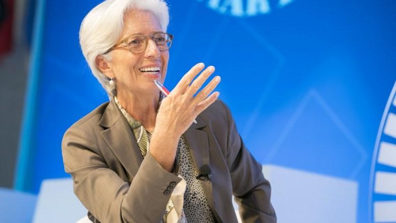 International Monetary Fund Manging Director Christine Lagarde. IMF Staff Photo, Stephen Jaffe