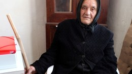 FILE PHOTO: Eleni, one of the 340 enclaved Greek Cypriots that remain in Rizokarpaso village. EPA, KATIA CHRISTODOULOU