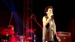 Η Άλκηστις Πρωτοψάλτη. Φωτογραφία via YouTube