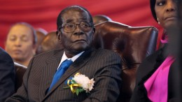 Zimbabwean former President Robert Mugabe.  EPA/AARON UFUMELI *** Local Caption *** 53590607