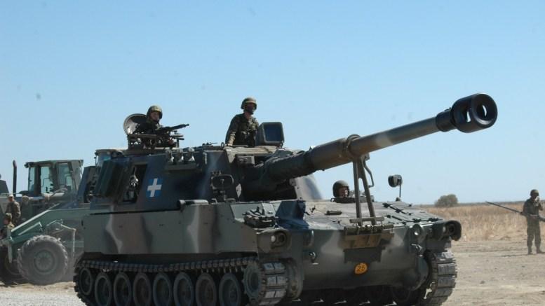 Αυτοκινούμενο πυροβόλο Μ-109. Η αύξηση του βεληνεκούς και της ευκινησίας του πυροβολικού θα επηρεάσει τις επιχειρήσεις  από πλευράς βάθους.  Φωτογραφία Αρχείου Δ.Ι. Μανακανάτα