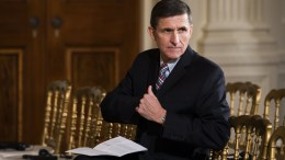 FILE PHOTO. Michael Flynn, former National Security Advisor to U.S. President Donald J. Trump. EPA/JIM LO SCALZO