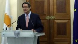 Ο Πρόεδρος της Κυπριακής Δημοκρατίας Νίκος Αναστασιάδης. Φωτογραφία ΧΡ. ΑΒΡΑΑΜΙΔΗΣ