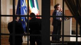 Ο πρωθυπουργός Αλέξης Τσίπρας με άλλους Ευρωπαίους ηγέτες στην Ιταλία. Φωτογραφία via Twitter, ΓΡΑΦΕΙΟ ΕΛΛΗΝΑ ΠΡΩΘΥΠΟΥΡΓΟΥ