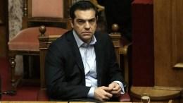Ο πρωθυπουργός Αλέξης Τσίπρας στη βουλή. Φωτογραφία Αρχείου. ΑΠΕ-ΜΠΕ/ ΣΥΜΕΛΑ ΠΑΝΤΖΑΡΤΖΗ