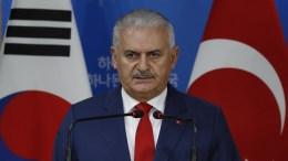 Turkish Prime Minister Binali Yildirim. EPA, JEON HEON-KYUN, POOL