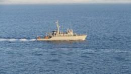 File Photo: Έρευνες ανατολικά της Κρήτης έχουν προγραμματίσει οι Τουρκοι. Στη φωτογραφία ελληνικό πολεμικό πλοίο. Φωτογραφία  ΑΠΕ- ΜΠΕ, ΓΡΑΦΕΙΟ ΤΥΠΟΥ ΓΕΝ ,STR
