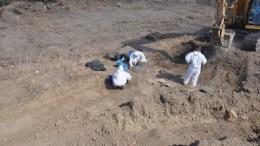 Τα λείψανα δύο αγνοουμένων εντόπισαν επιστήμονες της ΔΕΑ στο κατεχόμενο χωριό Κοντεμένος. FILE PHOTO. ΚΥΠΕ