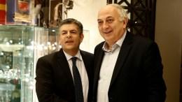 Ο υφυπουργός Εξωτερικών Ιωάννης Αμανατίδης με τον βουλευτή Θ. Παπαθεοδώρου.  1 Φεβρουαρίου 2018. FILE PHOTO, ΑΠΕ-ΜΠΕ, ΑΛΕΞΑΝΔΡΟΣ ΒΛΑΧΟΣ