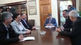 FILE PHOTO. Ο Πρόεδρος της Δημοκρατίας κ. Νίκος Αναστασιάδης δέχεται τα μέλη της Γραμματείας του Κινήματος Οικολόγων Περιβαλλοντιστών. ΓΤΠ, Χ.ΑΒΡΑΑΜΙΔΗΣ, KYΠΕ