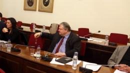 Ο βουλευτής της Δημοκρατικής Συμπαράταξης Ευάγγελος Βενιζέλος στη συνεδρίαση της Επιτροπής Θεσμών και Διαφάνειας της Βουλής. ΑΠΕ - ΜΠΕ, Αλέξανδρος Μπελτές