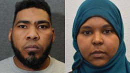 Munir Hassan Mohammed from Derby and Rowaida El Hassan from London were found guilty of planning an Isis-inspired terror attack. Photo via North East Counter Terrorism Unit