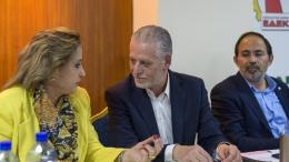 Η ΚΕ της ΕΔΕΚ αποφάσισε ότι δεν θα στηρίξει κανένα από τους δύο υποψηφίους  του δευτέρου γύρου.  Φωτογραφία ΚΥΠΕ