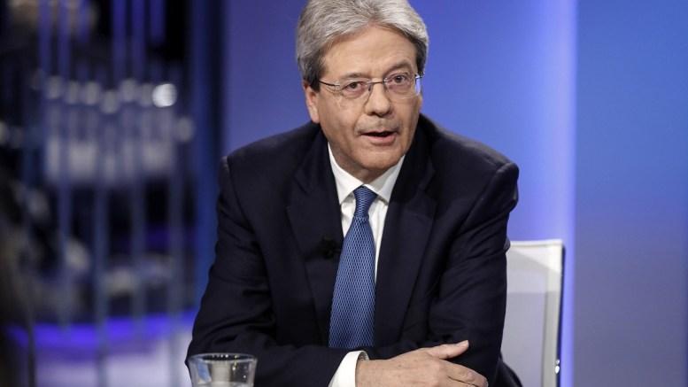 FILE PHOTO. Italian Prime Minister Paolo Gentiloni. 16 February 2018.  EPA, RICCARDO ANTIMIANI
