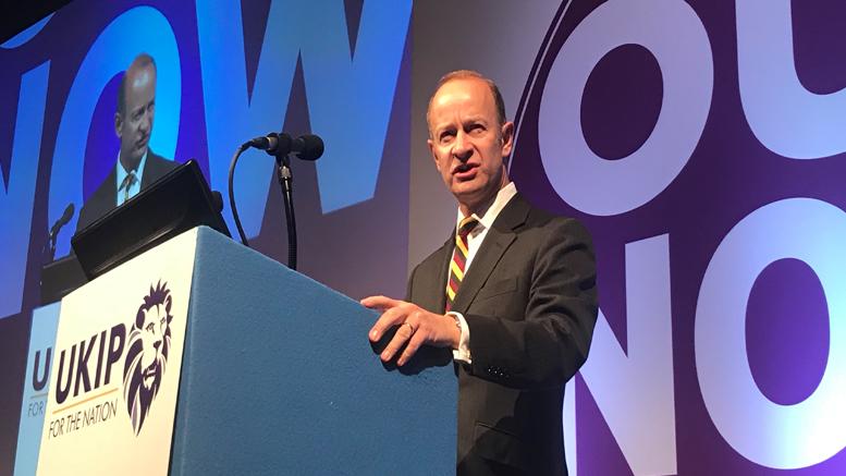 Ο μέχρι σήμερα πρόεδρος του UKIP - Πηγή: UKIP