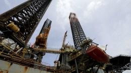 A view of a jack-up oil platform used for natural gas exploration. FILE PHOTO, EPA, RICARDO MALDONADO ROZO