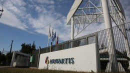File Photos: External view of the offices of Swiss medicine maker Novartis in Athens, Greece. Corruption prosecutors raided the offices of Novartis several as part of an ongoing investigation into allegations that Novartis bribed doctors and public officials. Greek authorities also requested the assistance of US authorities who first launched an investigation into the drug maker two years ago. EPA, ALEXANDROS VLACHOS