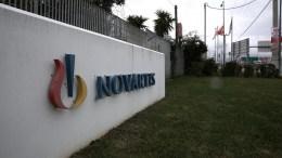 Τα  κεντρικά γραφεία της Novartis Hellas, στη Μεταμόρφωση Αττικής. ΑΠΕ-ΜΠΕ, ΣΥΜΕΛΑ ΠΑΝΤΖΑΡΤΖΗ