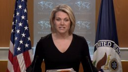 File Photo: Η εκπρόσωπος Τύπου του State Department, Heather Nauert - Πηγή: U.S. Department of State
