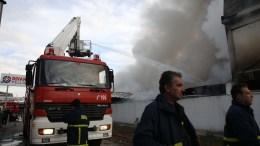 File Photo; Όχημα της πυροσβεστικής κατά τη διάρκεια κατάσβεσης πυρκαγιάς ΑΠΕ-ΜΠΕ: Σωτήρης Μπαρμπαρούσης