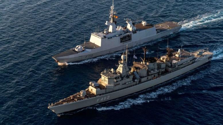 """File Photo: Φωτογραφία που χρησιμοποιήθηκε σε προβολή με τίτλο """"Το Πολεμικό Ναυτικό το 2017 - Μέσα από το Φωτογραφικό Φακό"""" με δραστηριότητες του Πολεμικού Ναυτικού. ΑΠΕ-ΜΠΕ, ΓΡΑΦΕΙΟ ΤΥΠΟΥ ΓΕΝ, STR"""