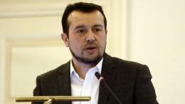 File Photo: Ο υπουργός Ψηφιακής Πολιτικής, Νίκος Παππάς σε παλαιότερη ομιλία του ΑΠΕ-ΜΠΕ, Αλέξανδρος Βλάχος