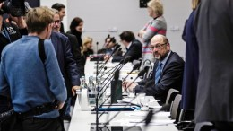 FILE PHOTO. Former leader of the Social Democratic Party (SPD) Martin Schulz during the beginning of a SPD faction meeting in Berlin, Germany. EPA/TILL RIMMELE