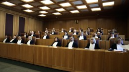 FILE PHOTO: Μετατίθεται για τις 4 Μαΐου η συζήτηση της προσφυγής στο ΣτΕ για την αντισυνταγματικότητα του νόμου  που αφορά στις τηλεοπτικές άδειες. ΑΠΕ-ΜΠΕ,ΣΥΜΕΛΑ ΠΑΝΤΖΑΡΤΖΗ