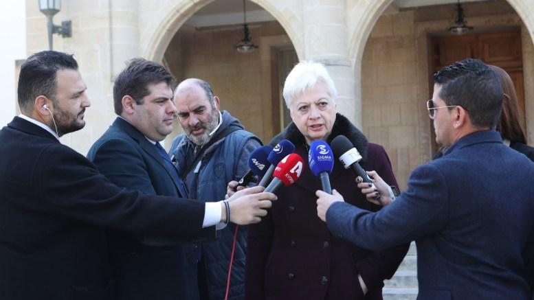 Η πρόεδρος του Κινήματος Αλληλεγγύη Ελένη Θεοχάρους. FILE PHOTO, ΚΥΠΕ, ΓΤΠ, Χ.ΑΒΡΑΑΜΙΔΗΣ
