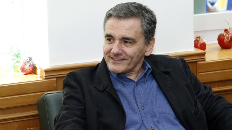 FILE PHOTO: Ο υπουργός Οικονομικών Ευκλείδης Τσακαλώτος. ΑΠΕ-ΜΠΕ, ΑΛΚΙΑΔΑΚΗΣ ΝΙΚΟΣ