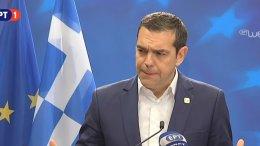 Ο πρωθυπουργός Αλέξης Τσιπρας ενημερώνει για την άτυπη σύνοδο κορυφής
