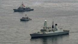 Τουρκικά σκάφη και πλοίο χώρας μέλους του ΝΑΤΟ σε άσκηση της συμμαχίας. FILE PHOTO, via Τουρκικό Ναυτικό.