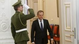 President of the European Council Donald Tusk in Vilnius, Lithuania. EPA, TOMS KALNINS